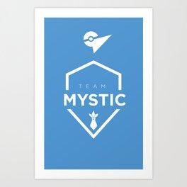 Go Mystic! Art Print
