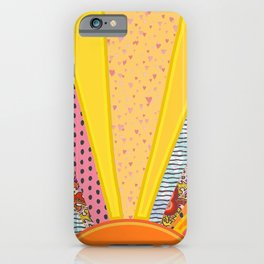 Sun Patterns iPhone Case
