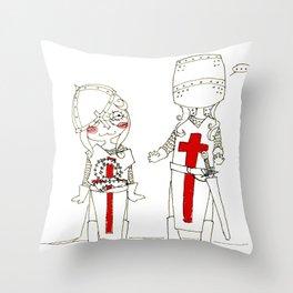 Crusade Throw Pillow