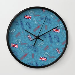 British pattern Wall Clock