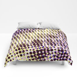 visual illusion No. 1 Comforters