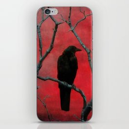 The Color Red iPhone Skin