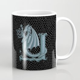Dragon Letter Y, from Dracoserific, a font full of Dragons Coffee Mug