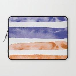Waves of Summer | Stormy Sunset Skies Laptop Sleeve