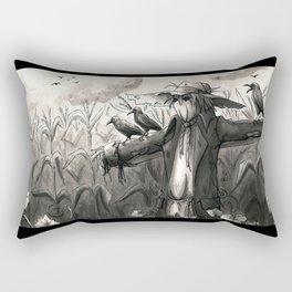the scarecrow Rectangular Pillow
