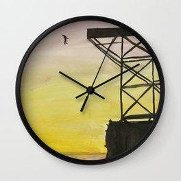 Like A Butterfly Wall Clock