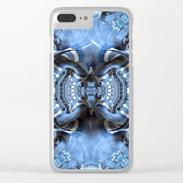 Nothing But Blue Skies Clear iPhone Case