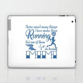 Running Mimi Laptop & iPad Skin