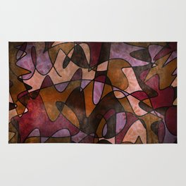 """""""Everyday Remnants"""" Abstract, Alt 5 Rug"""