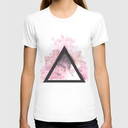 Abstract Triangle (Red) T-shirt