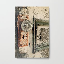 Waterford Door Metal Print