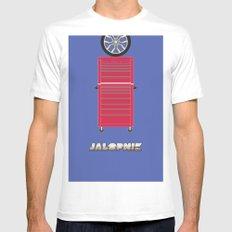 Essence of Jalopnik Mens Fitted Tee White MEDIUM