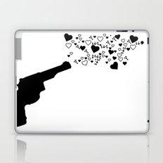 Shot in the heart Laptop & iPad Skin