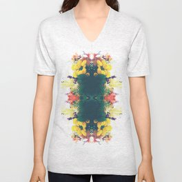 Summer Bouquet Psychedelia 2012 Unisex V-Neck