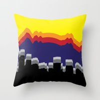 colorado Throw Pillows featuring ColoRADo by Sierra LaFrance