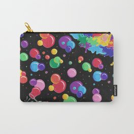Bubbles colors the World !  Carry-All Pouch