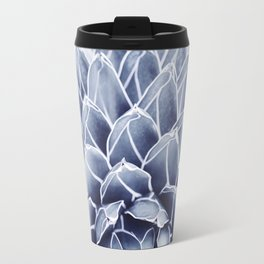 Succulent splendour - chambray Travel Mug