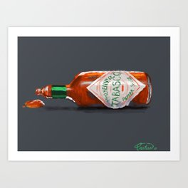 Good With Everything Art Print
