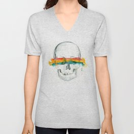 The Anonymity of Existence Unisex V-Neck