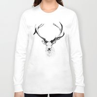 stag Long Sleeve T-shirts featuring STAG by A.J.F