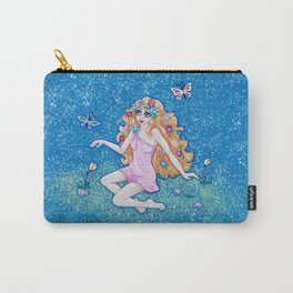 Pretty Spring Maiden Carry-All Pouch