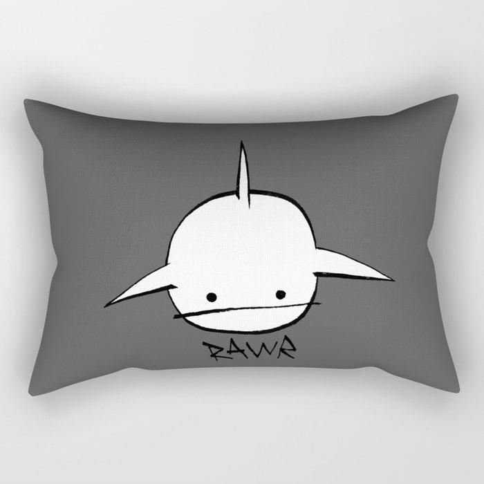 minima - hover shark Rectangular Pillow