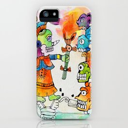 Witchdoctor, inspired by Frida Kahlo iPhone Case