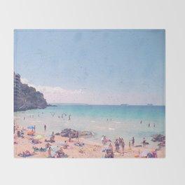A Perfect Mallorca Day Throw Blanket
