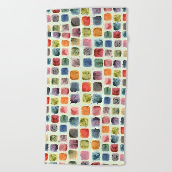 Colors in Suspension Beach Towel