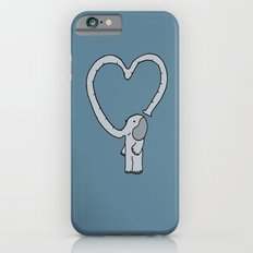 Valentine Day Elephant Slim Case iPhone 6s