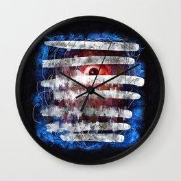 Blindsided Wall Clock