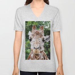 Silly Giraffe Unisex V-Neck