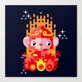 Fire Monkey Year Canvas Print