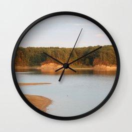 Wolf Creek Overlook Wall Clock