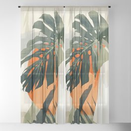 Jungle 3 Sheer Curtain