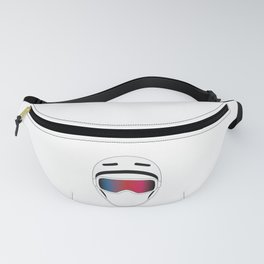 Snowboard Helmet and Goggles Fanny Pack