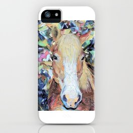 Finger Paint Pony iPhone Case
