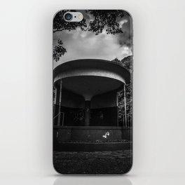 mono bandstand iPhone Skin