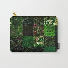 Foliage Patchwork #1 Carry-All Pouch