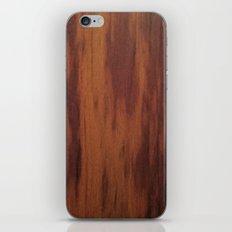 Wood Grain iPhone & iPod Skin