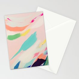 Wild Ones #3 - abstract painting Stationery Cards