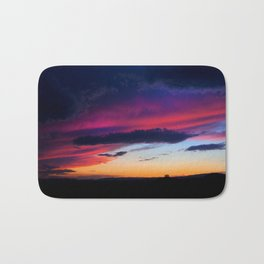 Stormy Sunset Bath Mat