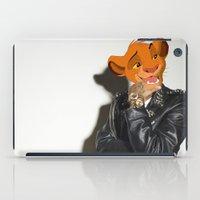 simba iPad Cases featuring Lion King rocker by Andrea Vietti