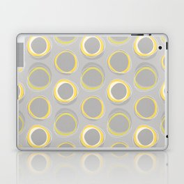 Solar Eclipse MCM Gray-Yellow Laptop & iPad Skin