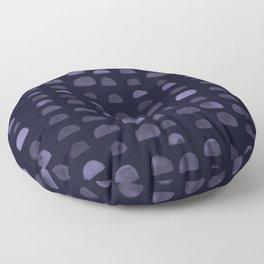 Hills - Navy Floor Pillow
