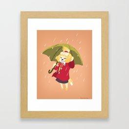Autumn Rain Isabelle Framed Art Print