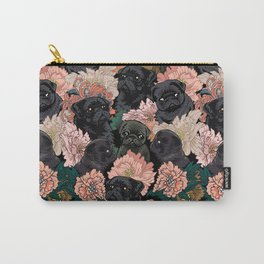 Because Black Pug Carry-All Pouch