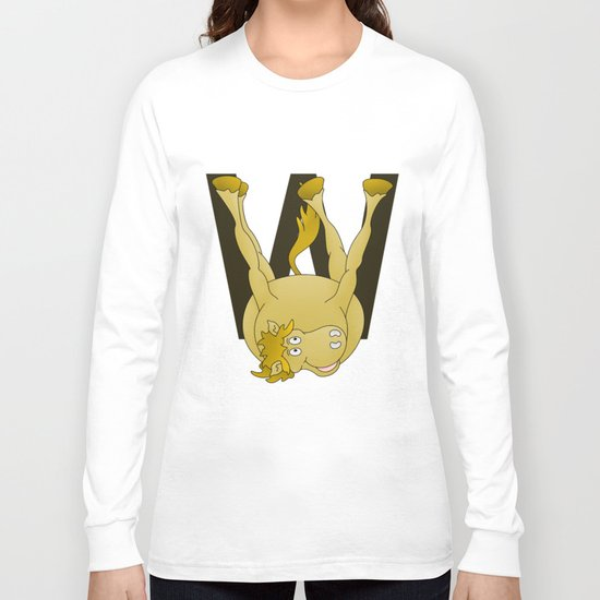 Monogram W Pony Long Sleeve T-shirt