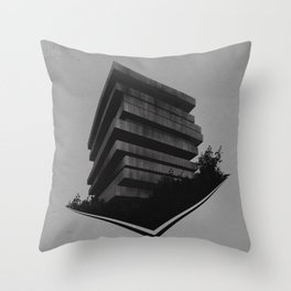 The Giant In The Forest Throw Pillow