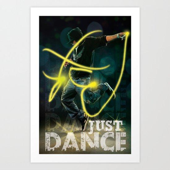 Flash Dance Art Print
